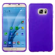 Insten Frosted TPU Gel Rubber Case For Samsung Galaxy S7 - Purple