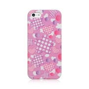 Insten Crystal TPU Rubber Skin Gel Back Shell Cover Case For Apple iPhone 5 / 5S - Pink Doll