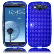 Insten For Samsung Galaxy S III S3 i9300/ i747/ L710/T999/i535 TPU Gel Case Blue