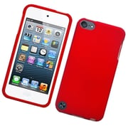 Insten Hard Rubber Cover Case For Apple iPod Touch 5th Gen - Red