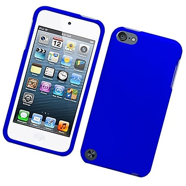Insten Hard Rubber Case For Apple iPod Touch 5th Gen - Blue