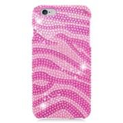 Insten Zebra Hard Bling Case For Apple iPhone 6s Plus / 6 Plus - Hot Pink