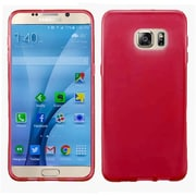Insten Frosted Gel Case For Samsung Galaxy S7 - Red
