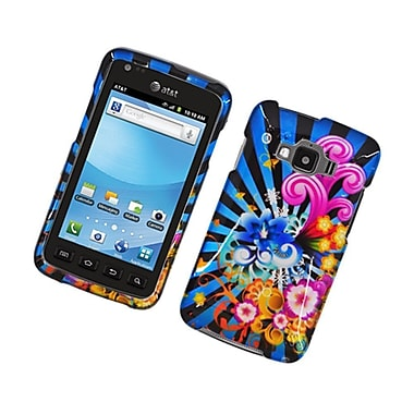 Insten Fireworks Hard Case For Samsung Rugby Smart - Blue/Colorful
