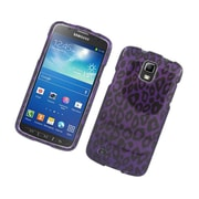 Insten Leopard Hard Cover Case For Samsung Galaxy S4 Active - Purple