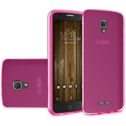 Insten Frosted TPU Case For Alcatel One Touch Allura/Fierce 4/Pop 4+ - Hot Pink