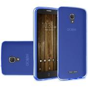 Insten Frosted Rubber Case For Alcatel One Touch Allura/Fierce 4/Pop 4+ - Blue
