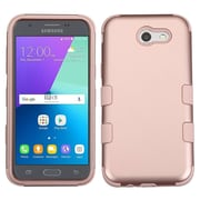 Insten Tuff Hard Hybrid Silicone Cover Case For Samsung Galaxy J3 (2017) - Rose Gold