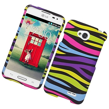 Insten Zebra Hard Cover Case For LG Optimus L70 / Optimus Exceed 2 VS450PP/Realm - Colorful