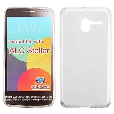 Insten Rubber Cover Case For Alcatel Stellar - Clear