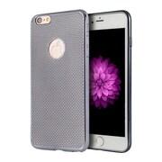 Insten Mesh Rubber Case For Apple iPhone 6 Plus/6s Plus - Silver