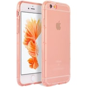 Insten Shockproof Crystal TPU Rubber Skin Gel Back Case Cover For Apple iPhone 6s Plus / 6 Plus - Rose Gold