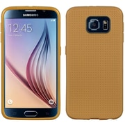 Insten Dots Gel Cover Case For Samsung Galaxy S6 - Champagne Gold