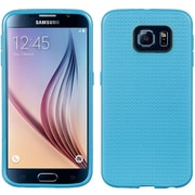 Insten Dots Gel Cover Case For Samsung Galaxy S6 - Blue