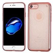 Insten Glittering Gel Glitter Cover Case For Apple iPhone 7 - Rose Gold