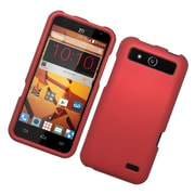 Insten Hard Rubber Coated Case For ZTE Speed - Red
