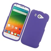 Insten Hard Rubber Coated Cover Case For ZTE Imperial II - Purple