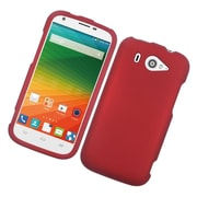 Insten Hard Rubber Case For ZTE Imperial II - Red