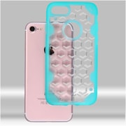 Insten Hard Crystal TPU Case For Apple iPhone 7 - Clear/Light Blue