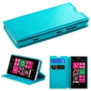 Insten Blue MyJacket Wallet Case Cover with Tray 564 with Package For NOKIA Lumia 521