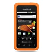 Insten Rubber Hard Clip On Back Rear Cover Case For Samsung Galaxy Prevail - Orange