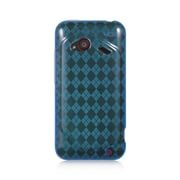 Insten TPU Cover Case For HTC Droid Incredible (LTE version) - Blue