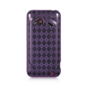 Insten TPU Case For HTC Droid Incredible (LTE version) - Purple