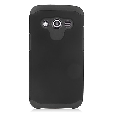 Insten Hard Dual Layer Silicone Case For Samsung Galaxy Avant - Black