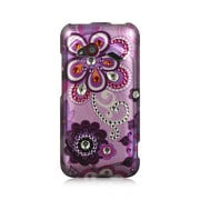 Insten Hard Diamond Cover Case For HTC Droid Incredible (LTE version) - Purple