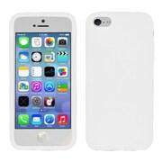 Insten For iPhone 5c PREMIUM Silicone Skin Case - White