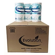 Evolution Kitchen Roll Paper Towels, 2-ply, 250 Sheets/Roll, 12/Carton (PRO00495)