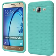 Insten Rugged Gel Rubber Cover Case For Samsung Galaxy On5 - Teal