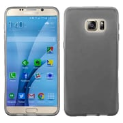 Insten Frosted Rubber Case For Samsung Galaxy S7 - Smoke