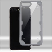 Insten Hard TPU Cover Case For Apple iPhone 7 Plus - Clear/Gray
