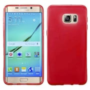 Insten Frosted Gel Cover Case For Samsung Galaxy S7 Edge - Red