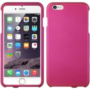Insten Hard Rubber Coated Cover Case for Apple iPhone 6s Plus / 6 Plus - Hot Pink