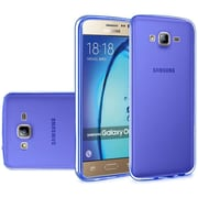 Insten Frosted TPU Case For Samsung Galaxy On5 - Blue