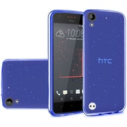 Insten Frosted TPU Rubber Case For HTC Desire 530 - Blue