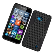 Insten Astronoot Hard Dual Layer TPU Cover Case For Microsoft Lumia 640 - Black