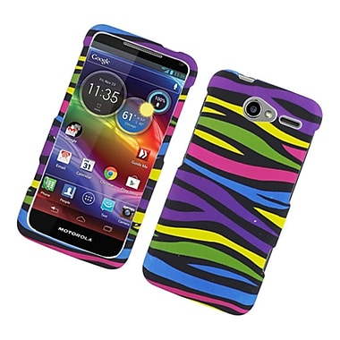 Insten Zebra Hard Cover Case For Motorola Electrify M - Colorful