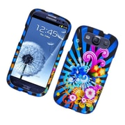 Insten Fireworks Hard Cover Case For Samsung Galaxy S3 - Blue/Colorful