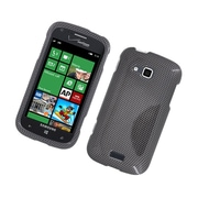 Insten Carbon Fiber Hard Case For Samsung ATIV Odyssey - Dark Gray