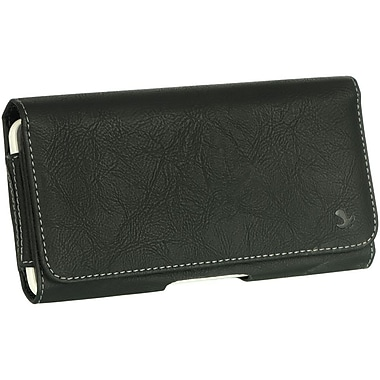 Insten Horizontal Leather Style Pouch Cover with Belt Clip For Samsung Galaxy Mega 6.3