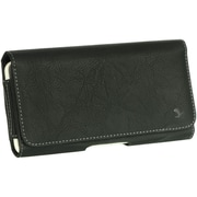 "Insten Horizontal Leather Style Pouch Cover with Belt Clip For Samsung Galaxy Mega 6.3"" GT-I9200 - Black"