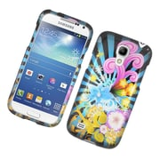Insten Fireworks Hard Case For Samsung Galaxy S4 Mini - Blue/Colorful