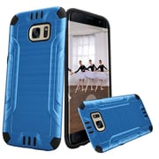 Insten Hard Hybrid TPU Cover Case For Samsung Galaxy S7 Edge - Blue/Black