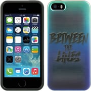 Insten TPU Imd Design Rubber Skin Gel Back Shell Case Cover For Apple iPhone 5 / 5S - Between The Lines