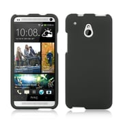 Insten Hard Rubberized Cover Case For HTC One Mini - Black