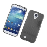 Insten Carbon Fiber Hard Case For Samsung Galaxy S4 - Dark Gray