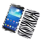 Insten Zebra Hard Case For Samsung Galaxy S4 Active - Black/White